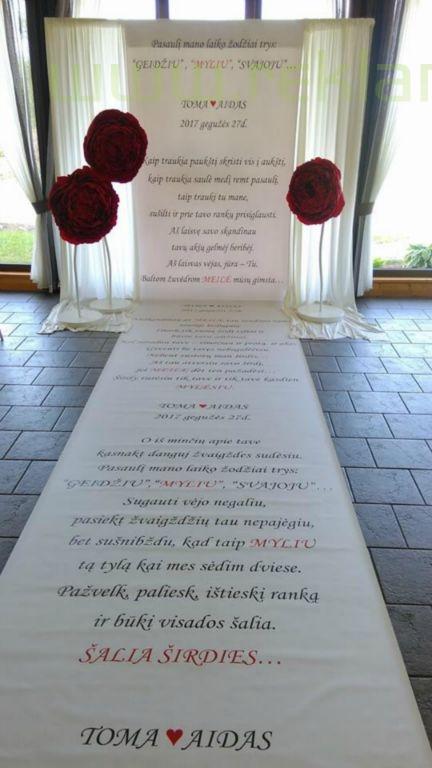Fotosienelė vestuvėms pagal individualų užsakymą