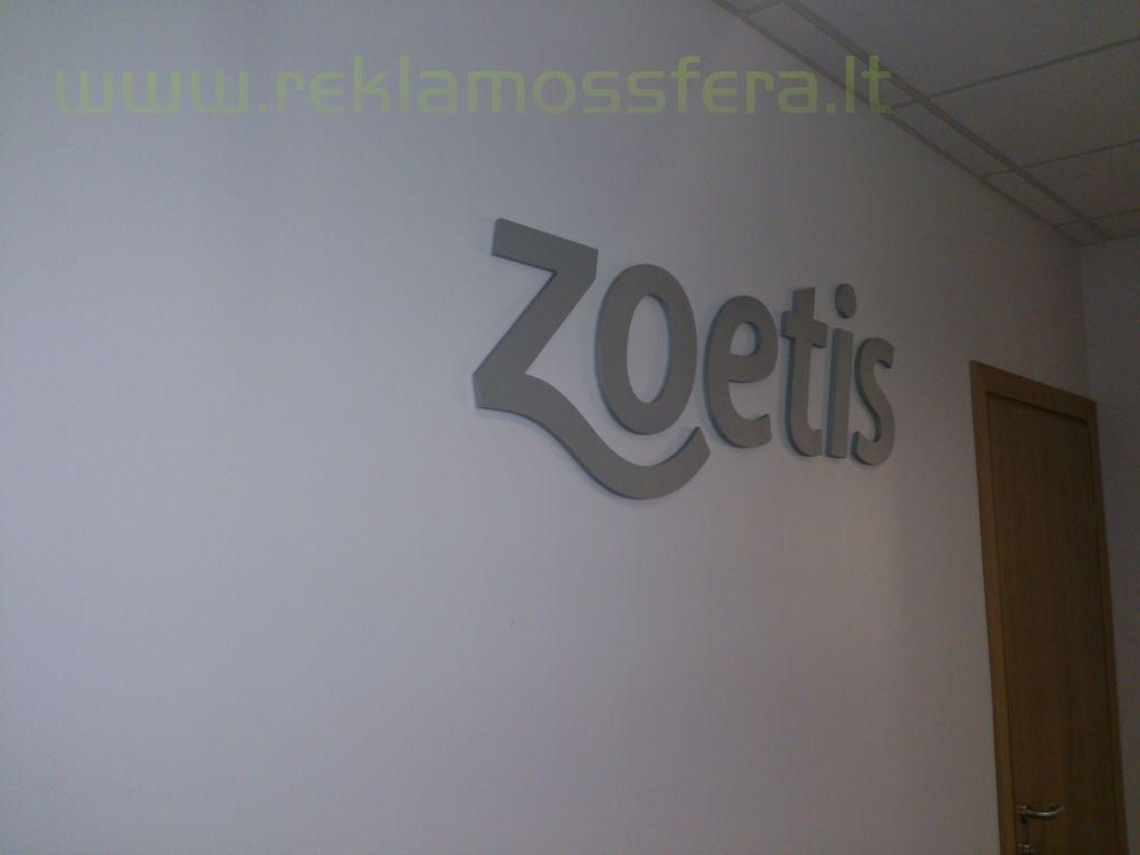 Frezuotas tūrinis logotipas
