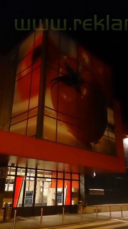 ,,Pomidoras,, klijavimo darbai 180 m2