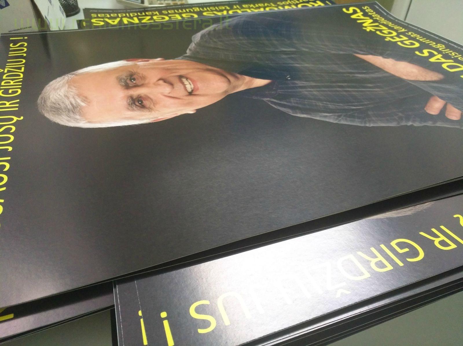 Plakatų gamyba